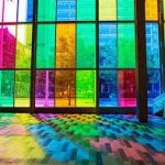 شیشه رنگی