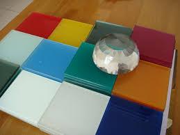 خرید عمده شیشه سکوریت رنگی