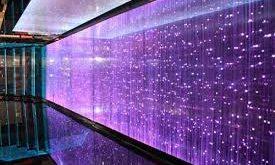 شیشه LED