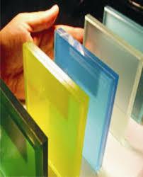شیشه رفلکس رنگی