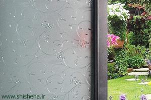 شیشه سکوریت مشجر