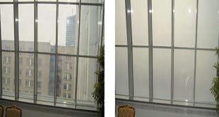 شیشه الکتریکی هوشمند