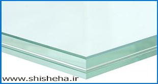 شیشه کریستال لمینت