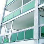 شیشه سکوریت سبز