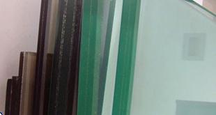 شیشه لمینت رنگی